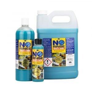Optimum No Rinse Wash and Shine